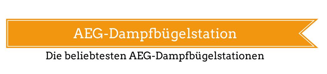 AEG-Dampfbügelstation
