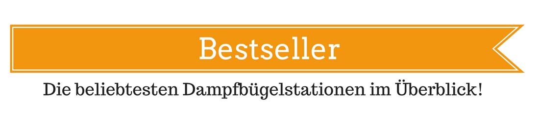 Bestseller-Dampfbügelstation