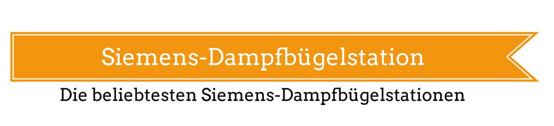 Siemens-Dampfbügelstation