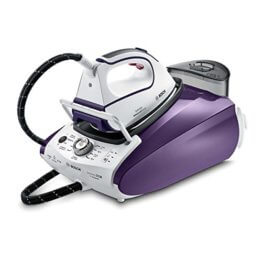 Bosch TDS383111H Dampfstation Sensixx DS38 ProHygienic , 3100 W, 6,5 bar, Hygiene Programm, weiß / magic violet -