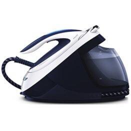Philips PerfectCare Elite gc96142400W 1.8L Sohle t-ionicglide blau, weiß–Bügelstation (2400W, 7,5bar, 1,8l, 500g/min, 150g/min, Bügelsohle t-ionicglide) - 1
