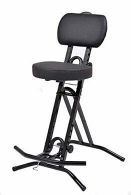 LIBEDOR Stehhilfe Stehhocker Stehsitz Sitz Sitzhilfe Stehstütze mit 6 cm ergonomischer Polster bis 130 kg belastbar - 1
