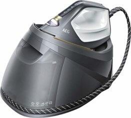 AEG ST8-1-8EGM Dampfbügelstation (Touchscreen, 4 Bügelprogramme mit Outdoor-Technologie, dauerhaftes Licht, 7,5 bar Dampfdruck, 400g Dampfstoß, kratzfeste Bügelsohle, 1,2 l Wassertank) grau - 1