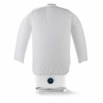 CLEANmaxx automatischer Hemdenbügler mit Dampffunktion Version 2019   Bügler für Hemden & Blusen, Bügelautomat   Bügelpuppe mit zwei Bügelprogrammen [1800 Watt/weiß] - 3